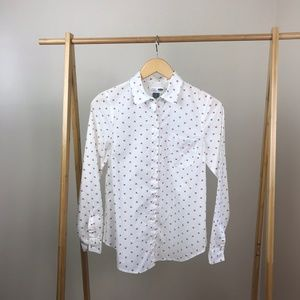 Old Navy • Foxy Lady Button Down Size Small